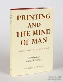 【包邮】Printing And The Mind Of Man