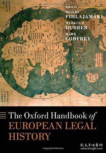 【包邮】The Oxford Handbook Of European Legal History