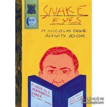 【包邮】Snake Eyes: A Nicolas Cage Activity Book