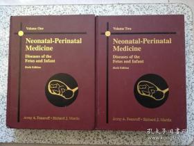 【包邮】Neonatal-Perinatal Medicine: Diseases of the Fetus and Infant (Sixth Edition) Volume 1、2