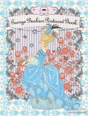 【包邮】George Barbier Postcard Book