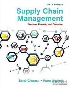 【包邮】Supply Chain Management: Strategy Planning And Operation (6th Edition)