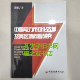 中国电力市场化改革及其区域问题研究