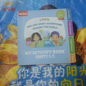 MY ACTIVITY BOOK UNITS 1-3