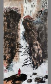 【保真】安徽省美术家协会员、《中华国风文艺》执行主编、实力画家方玉毛作品:唐人诗意