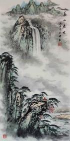 【保真】知名画家冯君涛作品:高山 流水