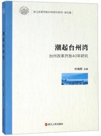 潮起台州湾(台州改革开放40年研究)/浙江改革开放40年研究系列·地方篇