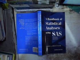 Handbook Of Statistical Analyses Using Sas, Second Edition-使用Sas的统计分析手册,第二版