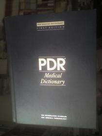PDR Medical Dictionary(First Edition)(馆藏本)(PDR医学词典》(第一版)