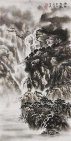 【保真 特惠】职业画家 李丕民 四尺整张山水