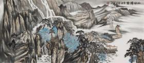 【保真 特惠】职业画家 李丕民 小六尺整张山水