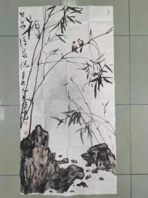 【保真 特惠】中美协会员 中美协敦煌创作中心终身创作委员 徐旷达 四尺整张国画2