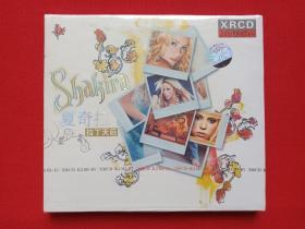 全新塑封《shakira夏奇拉--拉丁天后》XRCD光碟、光盘、碟片、专辑、音乐唱片、歌碟1盒装2003年(环球唱片、长春电影制片厂银声音像出版社出版)
