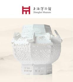 上海博物馆特制 3D 益智 立体剪纸系列 四羊首瓿