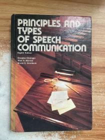 princlples and types of speech communication