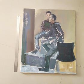 24 名家油画  纯手绘  大小见图片50厘米直尺