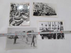 11     4张超大老照片8张大照片----12张合售------极其珍贵照片 ----黑白老照片老相片大照片   包老保真    背面为纯白色