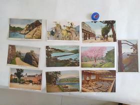 14上色民国明信片    包老保真    更多民国明信片请到店铺采购A----上色10张