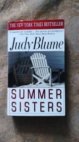 英文原版 Judy Blume SUMMER SISTERS 朱迪布魯姆夏日姐妹