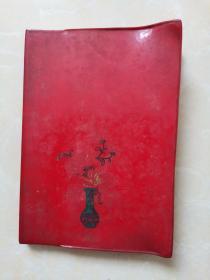 红塑皮日记本(内未使用)只盖了九江五中印章签名