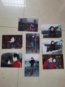 美女照片8张合售