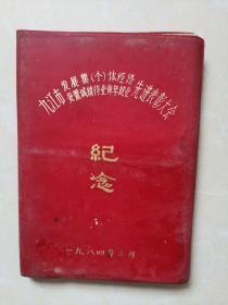 九江市发展集个体经济安置城镇待业青年就业先进表彰大会纪念册