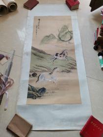 九江书画院早期作品 锋棱瘦骨成