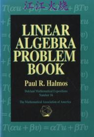 Linear Algebra Problem Book   <Dolciani Mathematical Expositions 16>