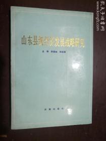山东县级经济发展战略研究  季星如 郭新璋 主编   济南出版社  正版  实拍  现货