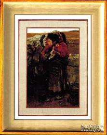 陈丹青           《 西藏组画·牧羊人 》                       镜框 画芯尺寸 18X24.5厘米      陈丹青旷世名作。殿堂级鸿篇巨制。中国当代美术史里不会褪色经典作品。现代中国美术史上的里程碑。2021春季拍卖会创造1.61亿的天价神话。