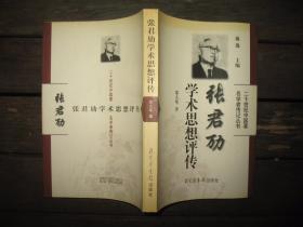 张君劢学术思想评传