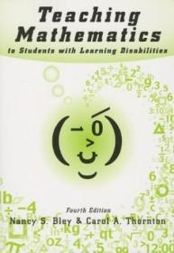 Teaching Mathematics To Students With Learning Disabilities-学习困难学生的数学教学