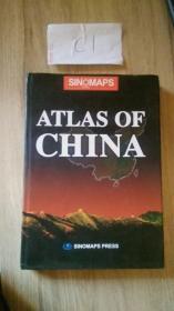 中国地图集(英文版) /杜秀荣 著
