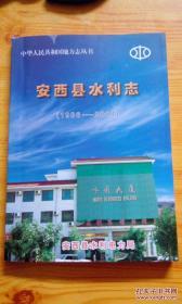 安西县水利志----中华人民共和国地方志丛书.