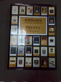 Sothebys Hong Kong twenty years 香港苏富比二十周年1973-1993 精装