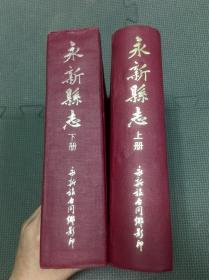 永新县志 精装 上下册