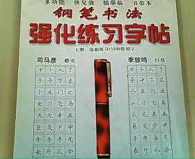 钢笔书法强化练习字帖 上册
