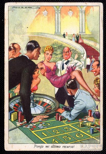 ◆ 外国明信片优选 --------------- 赌