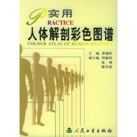 正版二手 实用人体解剖彩色图谱 李瑞祥 人民卫生出版社 9787117041485
