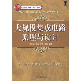 正版二手 大规模集成电路原理与设计 甘学温 贾嵩 王源 机械工业出版社 9787111277095