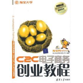 正版二手 C2C电子商务创业教程 浙江淘宝网络有限公司 清华大学出版社 9787302168263