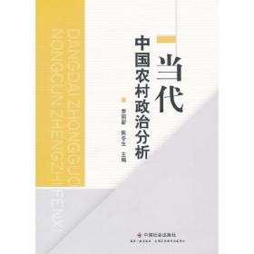正版二手 当代中国农村政治分析 季丽新 陈冬生 中国社会出版社 9787508736228