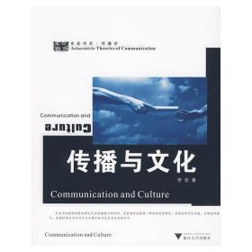 正版二手 传播与文化 李岩 浙江大学出版社 9787308071055