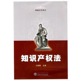 正版二手 知识产权法 冯晓青 武汉大学出版社 9787307070752