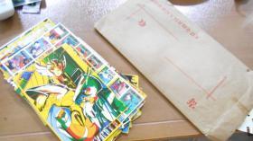 老贴纸不干胶:圣斗士星矢,七龙珠等(一堆合售)L1