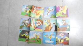 儿童彩色连环画:金猴降妖 全套(1、2、3、4、5、6)6本合售(24开,美品,合售)L9