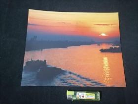 照片:通吕河上的晨曲