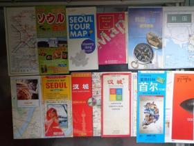 6种韩国首尔(汉城)地图 2000-2012年