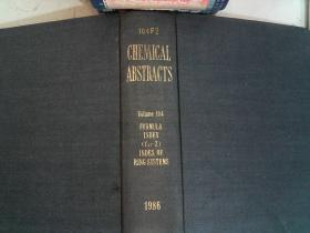 CHEMICAL ABSTRACTS.Volume 104   1896