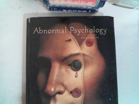 Abnormal Psychology  书角有破损